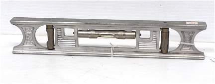 "Stanley No. 237 12"" Adj. Double Plumb and Level"