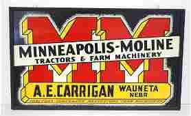Minneapolis-Moline sign