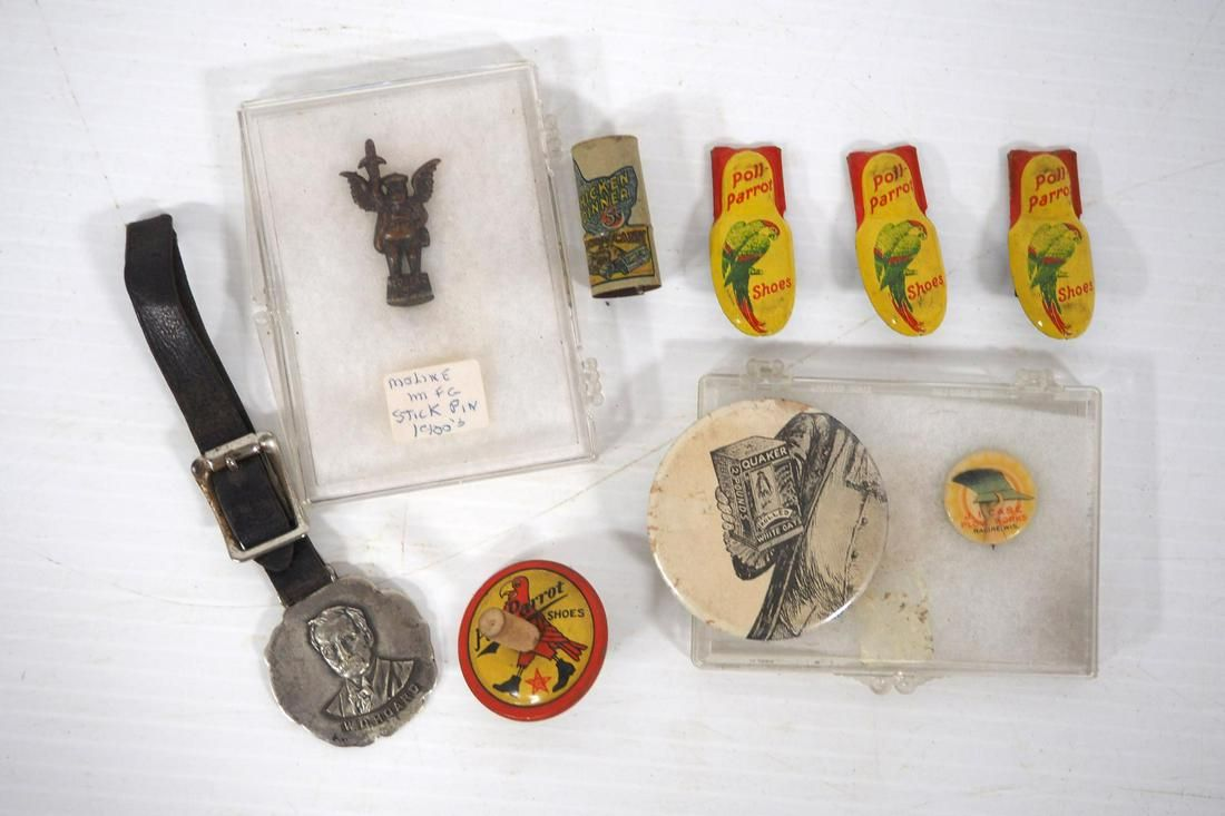 (9) Small advertising pieces