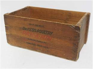 Dr. Hess Poultry box