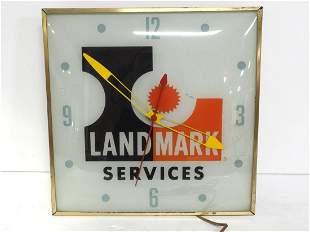Llighted Landmark Services clock