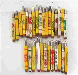 (25+) Advertising bullet pencils