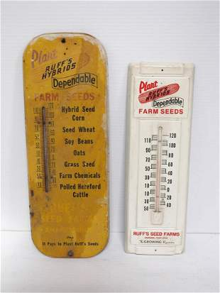 (2) Ruff's thermometers