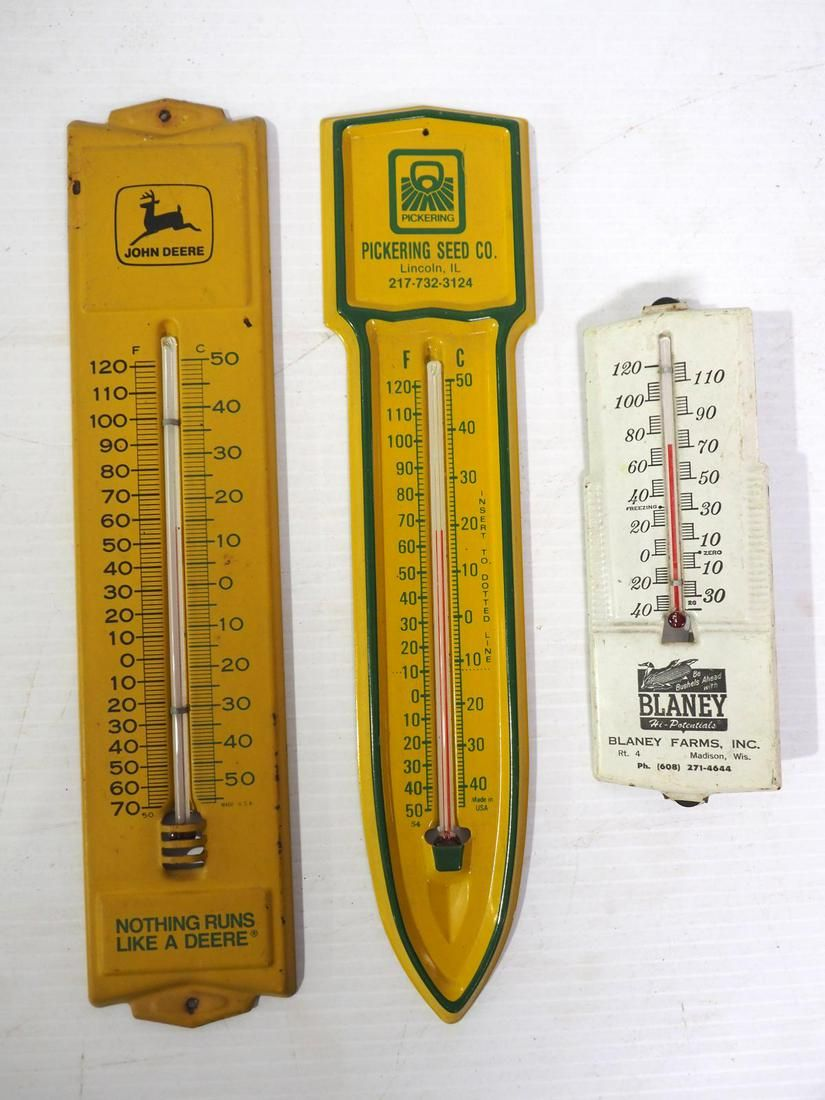 (3) Small thermometers