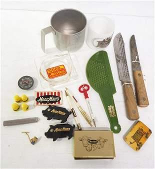 Box of MoorMan's items
