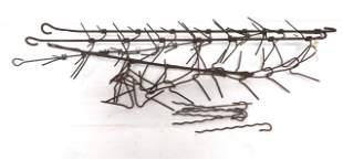 (4) Hanging corn dryers