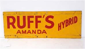 Ruff's Amanda Hybrid sign