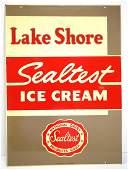 Lake Shore Sealtest Ice Cream sign