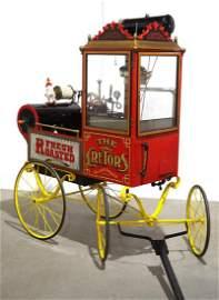 Cretors peanut & popcorn cart