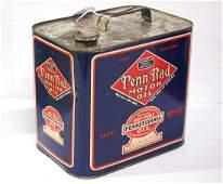 Penn-Rad Motor Oil tin