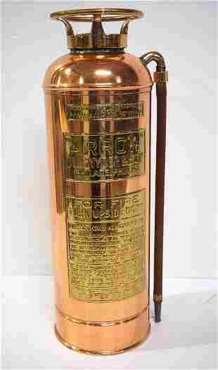 Arrow brass fire extinguisher