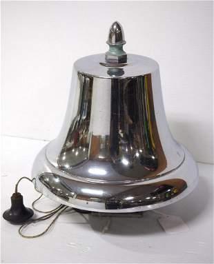 Brass locomotive or fire engine bell