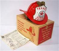 Texaco child's play firefighting hat