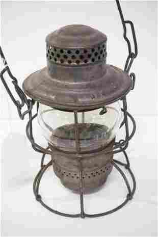 IC Railroad lantern
