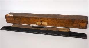 """Grays Instrument Co. No.5397 26"""" Precision level"""