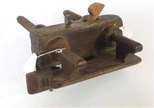 H. Chapin & Co. wooden Plow Plane