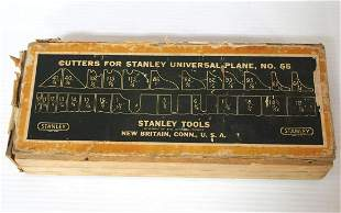 Stanley Cutters for Stanley Universal Plane No.55