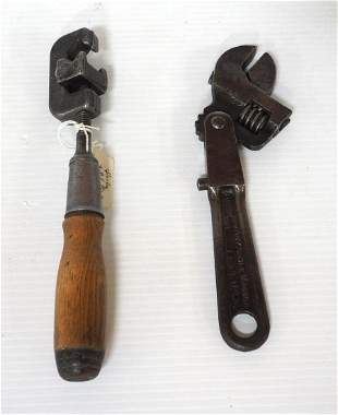 """""""Any Angle Wrench"""" / Stanley """"Bell System"""" Hand Vise"""