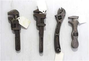 (4) Small wrenches