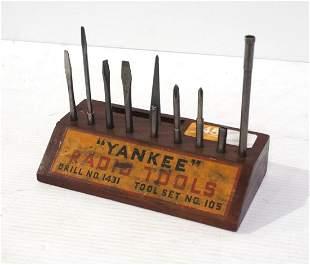 """""""Yankee"""" Radio Tools Drill No.1431 Tool Set No.105"""