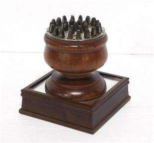 L.G. Smith's Small Letter Punch Set