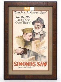 Simonds Saw advertisement