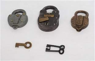 (3) Railroad Locks