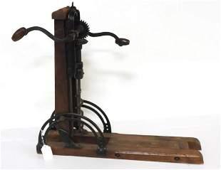 Barn beam drill