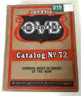 Hibbard Spencer Bartlett & Co. OVB Catalog No.72