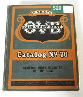 Hibbard Spencer Bartlett & Co. OVB Catalog No.70