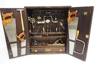 Stanley Sweetheart No.850 Tool Cabinet with Sweetheart