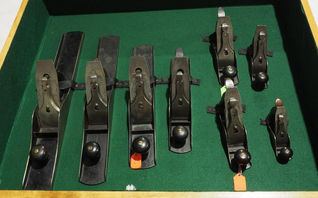 8-pc. Stanley (Type 4) Hand Plane Set