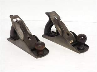(2) Stanley No.4½C Corrugated Hand Planes