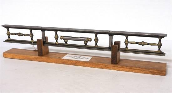 "L.L. Davis 24"" Skeletal Carpenter's Double Plumb and"