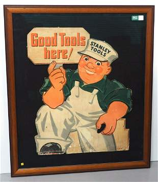 Stanley Tools advertising piece
