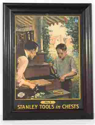 """Stanley Tools In Chests """"Pals"""" advertising piece"""