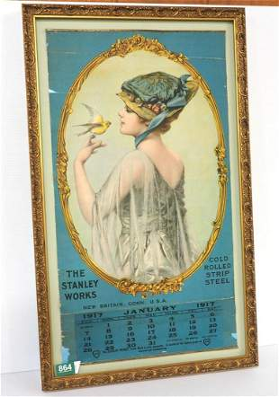 1917 The Stanley Works Calendar