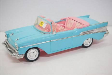57 Chevy plastic Barbie car