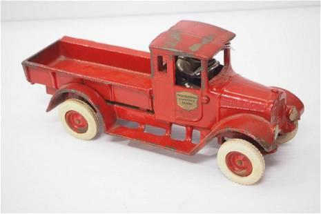 Arcade Red Baby Truck