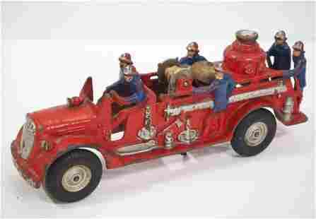 Arcade cast iron Fire Truck