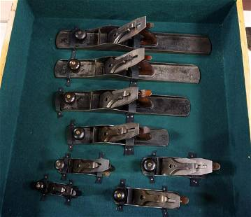 (8) Stanley Bench Planes, No.1 through No.8