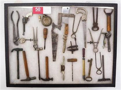 Collection of (25+) miniature tools