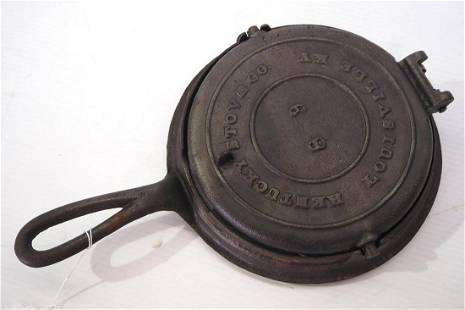 Kentucky Stove Co. No.8 & 9 waffle iron