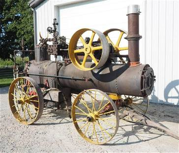 """Frick steam engine with 7"""" bore, 9"""" stroke"""