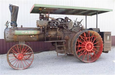 50hp Case steam engine tractor