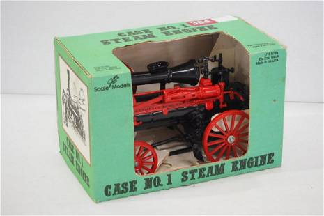 Scale Models No.1 Case steam engine toy