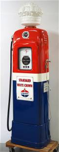 Wayne Model 80 lighted gas pump