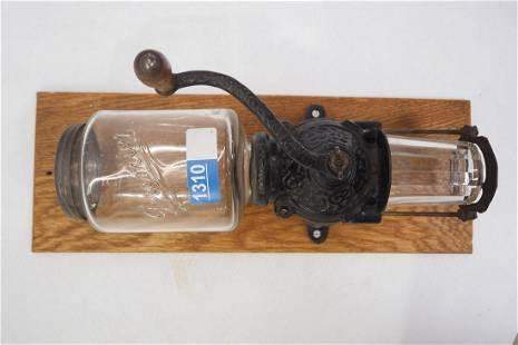 Premier wall-mount coffee grinder