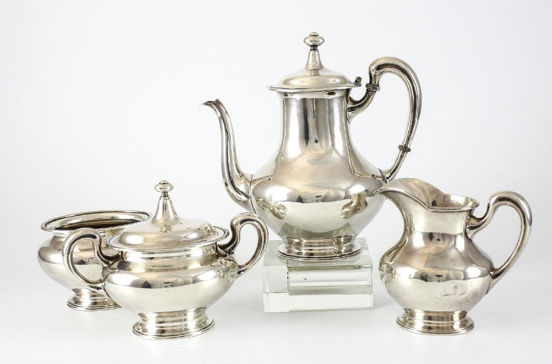 4pc Mauser Mfg Co. Sterling Silver Coffee Service Set - 2