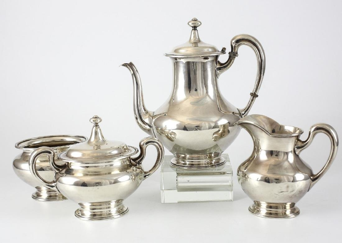 4pc Mauser Mfg Co. Sterling Silver Coffee Service Set - 3